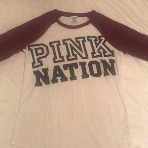Pink Nation Tee Shirt